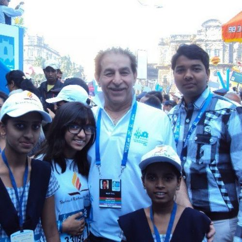 Mumbai Party CA Canon Dilig Funtimes Morning Marathon Selfie Amezing Stylish Standard Dude