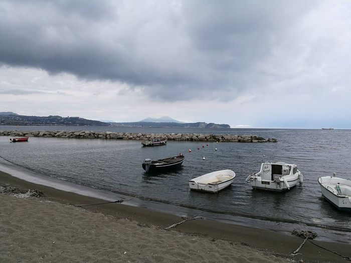 Napoli Sea Seascape Nature Beach Scenics Tranquility Sailing Ship Love <3 Beauty In Nature Cloud - Sky Bacoli Golfobacoli Pasqua