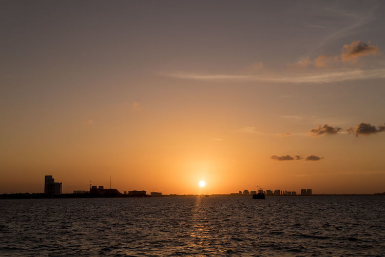 Sunset from a