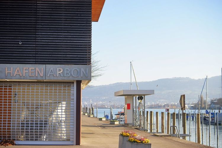 Arbon Bodensee Bodenseeregion Harbor Lake Constance No People Outdoors Pier Thurgau Water Waterfront
