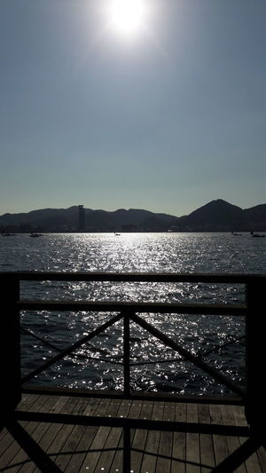 Sky Water Clear Sky Nature No People Sea Sun Outdoors Beauty In Nature Day Trip To Japan Travel Japan