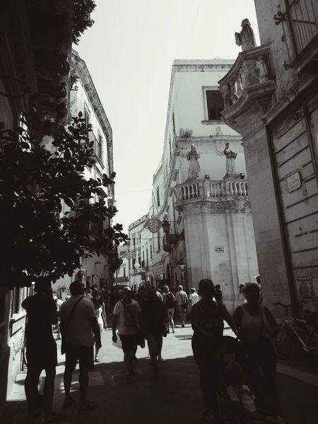 Walking Around Architecture Historic City Lecce City Touristic Destination Beauty❤
