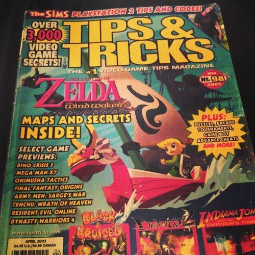 The golden days @johnbonebag Zelda Windwaker GAMECUBE Tipsntricks
