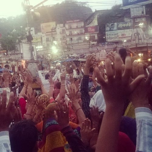The pledge to keep the Ganges clean !!! Mayhem_Time Insta_moment