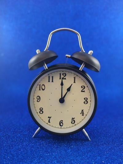 1 PM Clock Face