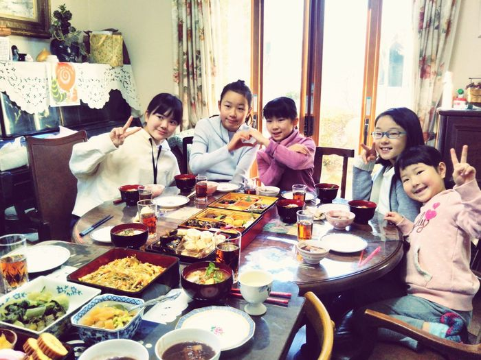 お正月 Cousins  お節料理 Food Food And Drink Togetherness Happiness