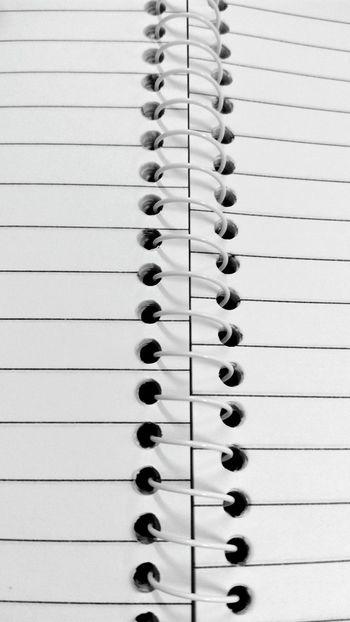 Binding Ssclix SSClicks SSClickPics SSClickpix Mobilephotography Notebook Spiral In A Row Close-up