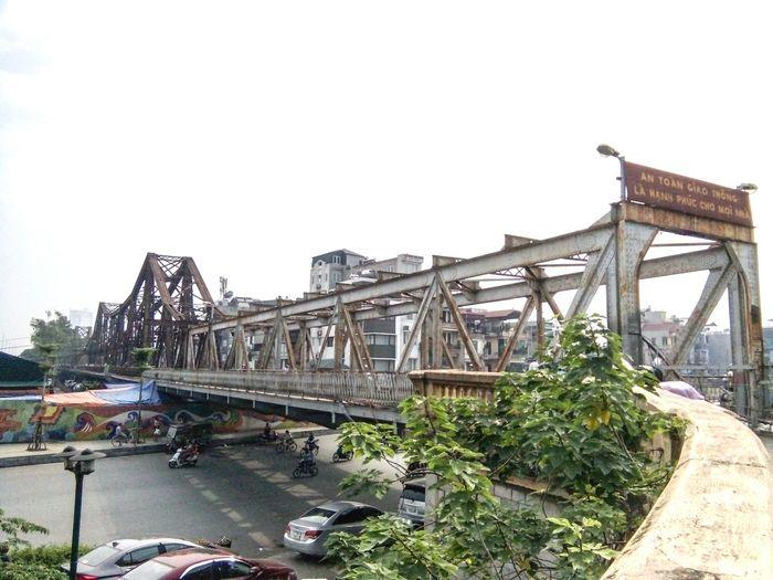 Long Bien Bridge City Oldbridge 100yearsold Hanoi Vietnam  Beautiful EyeEmNewHere