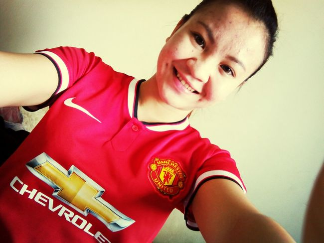 Let's go Manchester United I'm ready!! Check This Out Today's Hot Look Football ThatsMe