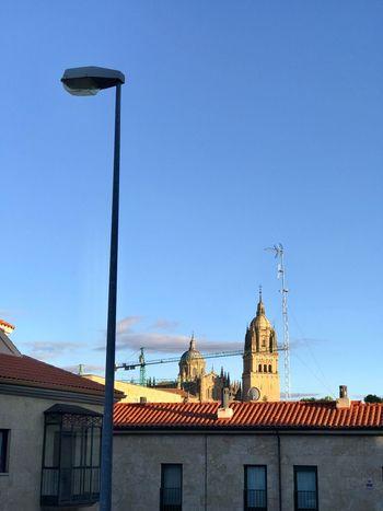 Réverbère (bis) Building Exterior Architecture Built Structure Sky Building Clear Sky City No People Day