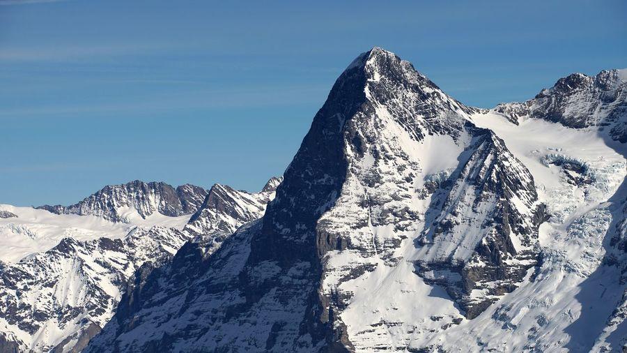Eiger from schilthorn, piz gloria