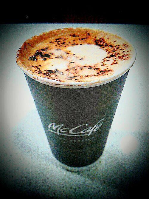McCafe 100% Arabica Coffee I'm Lovin' It ® Maccas At Mc Donalds Macca's Cup O' Coffee Cuppuccino Mc Donald's Espresso Coffee McDonald's Macdonalds Mcdonalds I'm Lovin' It