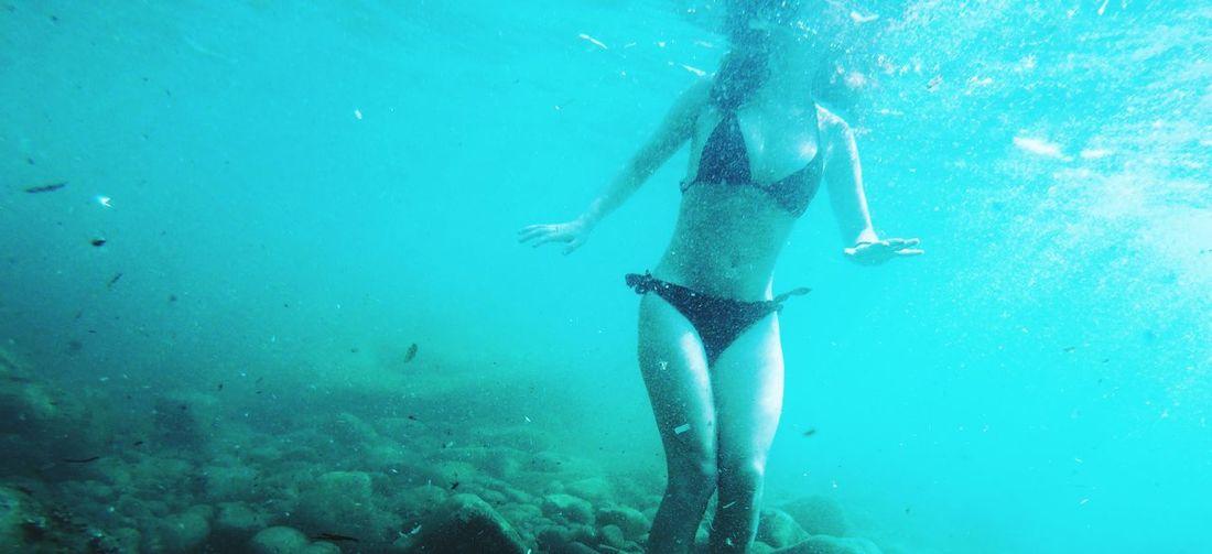 Underwater UnderSea Scuba Diving Swimming Water Sea Life Underwater Sea Low Section Adventure Snorkeling