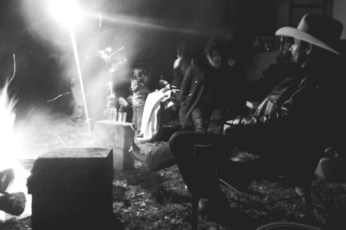 Country Life Firewood New Year 2016 Cowboy Camp Fire Texas Life Cowboy Hat Cowboy Boots By The Fire Telling Stories Differently People Together