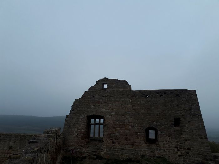 Nebel Old Ruin History Abandoned Ancient Ancient Civilization Sky Architecture Building Exterior Built Structure Castle Bad Condition Ruined Weathered Archaeology Medieval The Past Fort Civilization Run-down Damaged Broken Deterioration