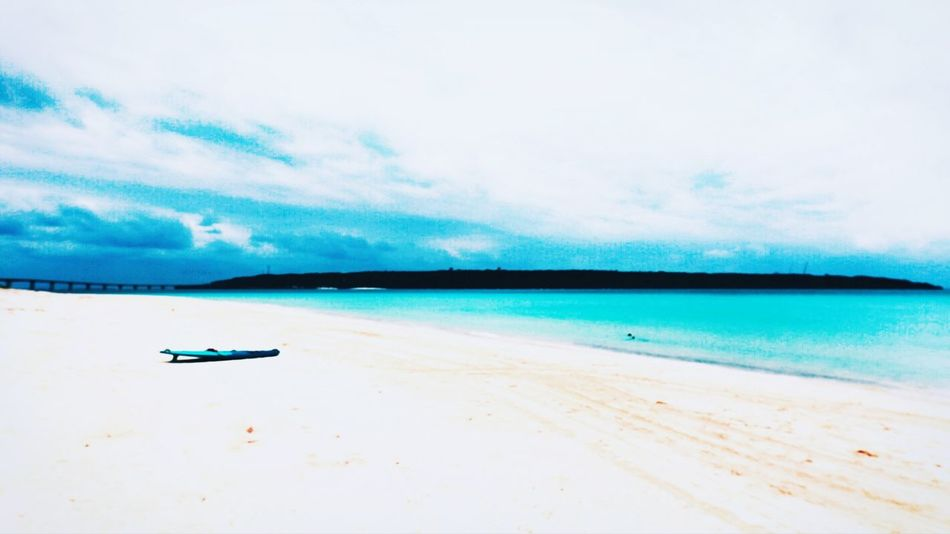 Miyako Sea Sand Beach Cloud - Sky Scenics Nature Outdoors Beauty In Nature Sky Water Tranquil Scene Nautical Vessel Transportation Blue Landscape Travel Tranquility Travel Destinations Horizon Over Water Day 沖縄 Okinawa No People 宮古島