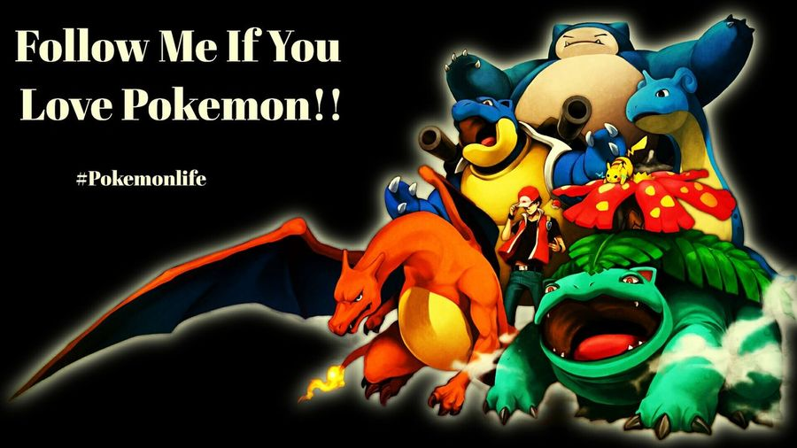 Follow me for the best Pokemon pictures! Pokémon Charizard Blastoise Venusaur Snorlax LAPRAS
