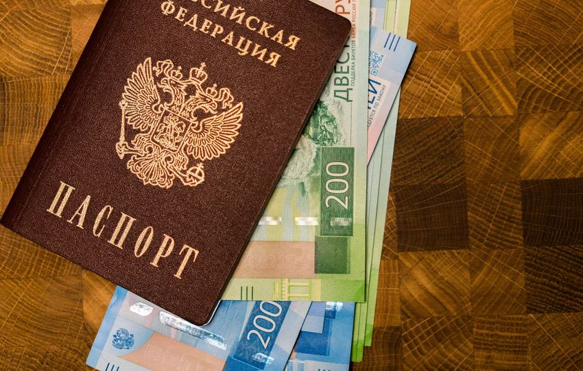 200 рублей 2000 рублей Passport Travel Airplane Bills Close-up Day High Angle View Indoors  No People Paper Currency Passport Rouble Rubles Russian Currency Russian Passport Text Vacation Visa паспорт российский паспорт
