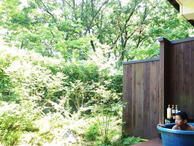 Summer Vacation Summer2015 Outdoor Bath Hotspring