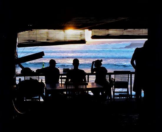 Amazingindonesia Bali Surfing Watchingpeoplewatching Shadow Shadows & Lights Oceanview Sunsetting Sunsettime Evening Sun Evening Sky Waves, Ocean, Nature Waves Crashing Watchingsurfers Beachphotography Life Is A Beach