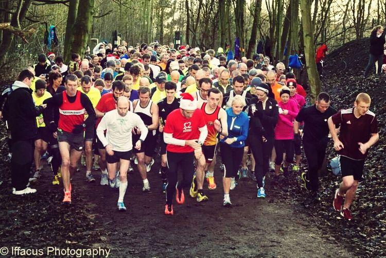 Parkrun Conkers Run Runners