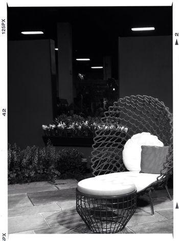 Mesh cocoon AMPt_community Furniture Interior Design Black And White