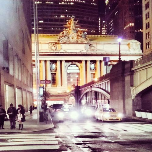 The Best Of New York Grand Central Station New York City Night Lights