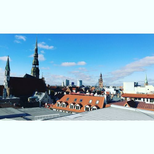 Riga Architecture Roof No People City Sky Day Outdoors