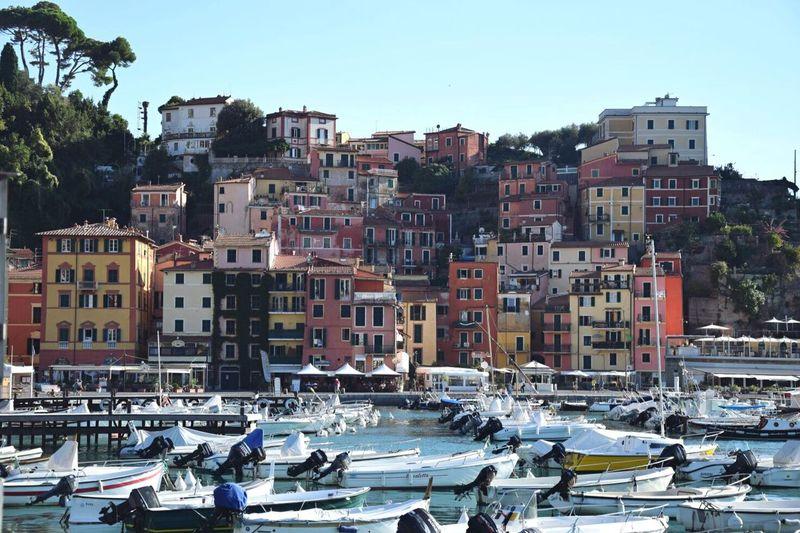 Boats In Marina In Italy