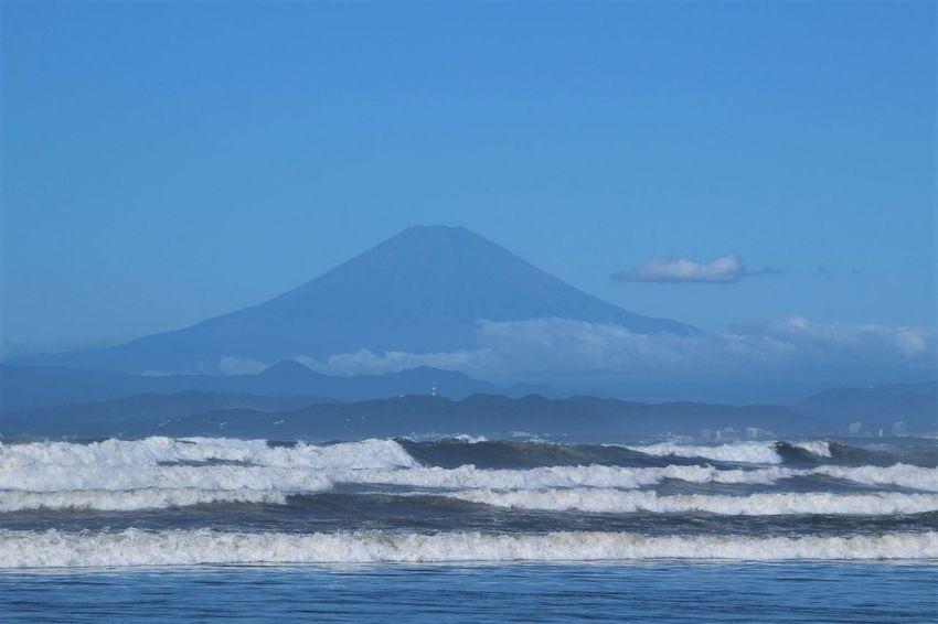 Japan Mt.Fuji Nature Wave Sea Shonan