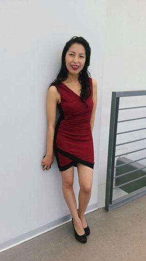 Dress Light Modern Red Black Brand Ejecutivo Model Style EyeEmNewHere
