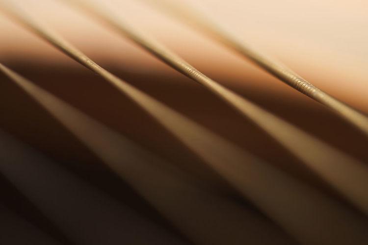 Detail shot of piano