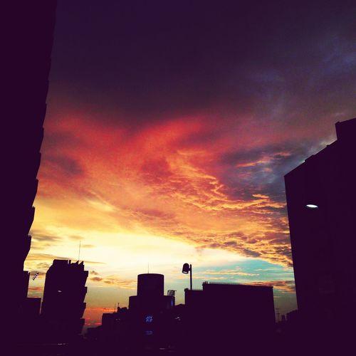 Someday Sky Sunset Evening Beautiful Taking Photos