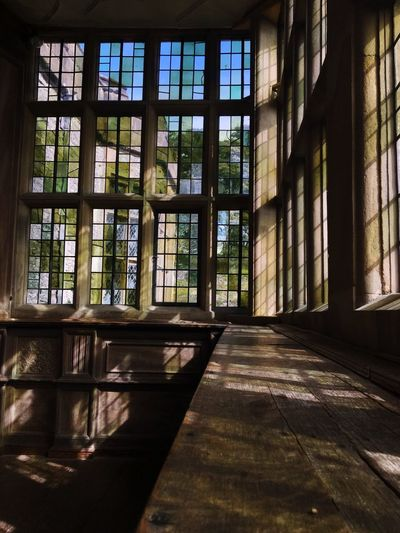 Haddonhall Derbyshire Elizabethan Tudor House Architecture Window Built Structure Building Sunlight Glass - Material Day Indoors