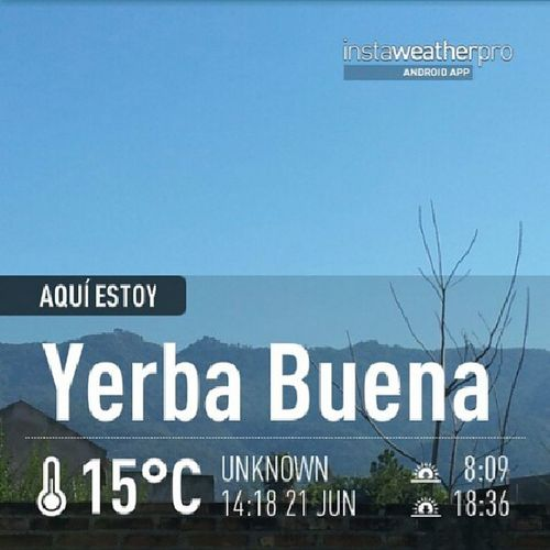 Instaweather Sun Yerba buena Beautifulday