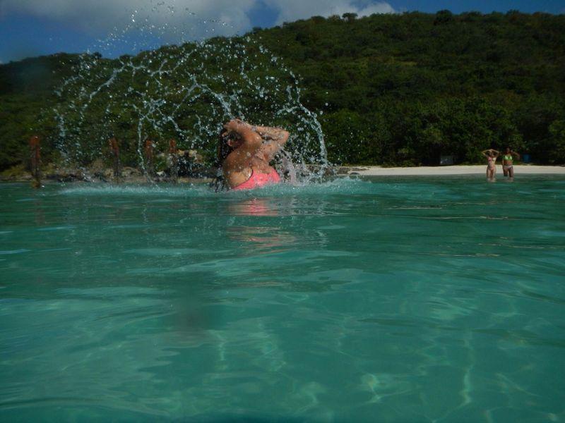At Flamenco Beach Beach Hangingout Islandgirl whit alicia...