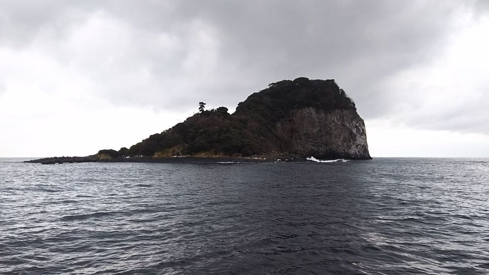 Sea Rock - Object Landscape 2018 玄界灘 Nature Island 玄界灘(Genkai-Nada), Saga-Ken in Japan.