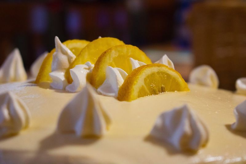 DeliziaAlLimone Cake Food And Drink Limone Crema Spong Cake Pandispagna Close-up Food And Drink Indoors  Food Freshness No People Fruit Fragility Table Ready-to-eat Day