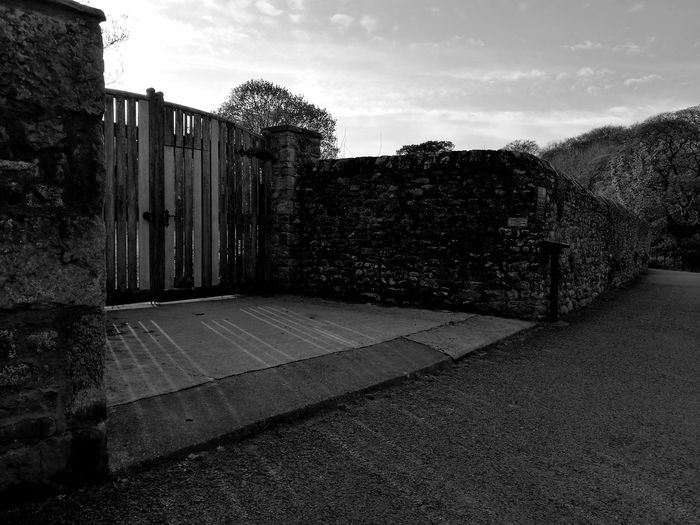 Heven's Door ;) No People Outdoors Day Architecture Sky Gates To Heaven  Sunlight Light And Shadows Kirkby Lonsdale HuaweiP9 BYOPaper!