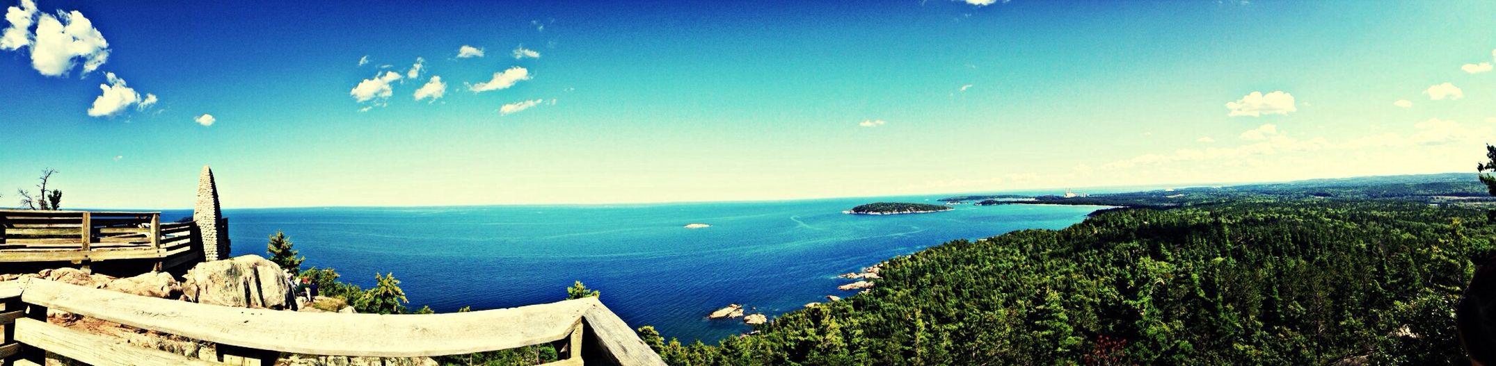 Took this Panorama at Sugarloaf yesterday. Marquette