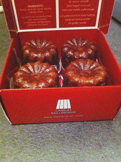 un vrai petit moment de bonheur venu tout droit du pays des cannelés... Merci mon Chris :) Bordeaux Love Delicious Mescheries
