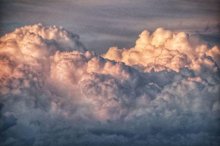 Dramatic cloud