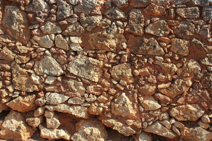 Old Wall Patern Rock Rough Stone Stone Wall Textured