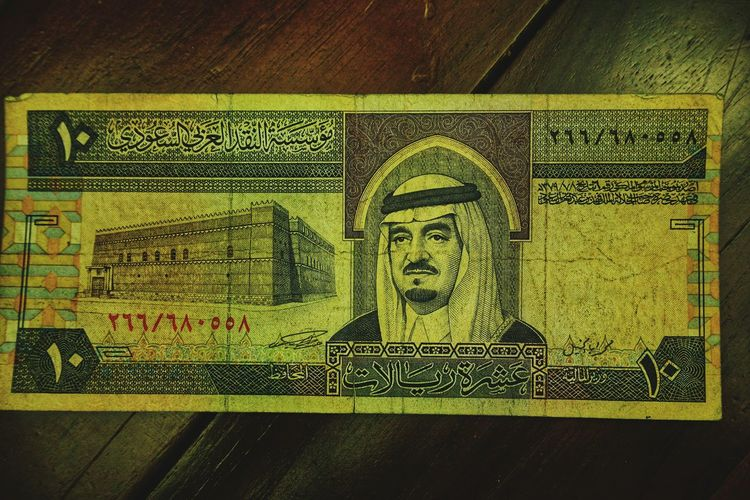 Old bank note.