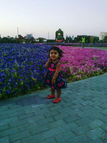 Miracle Garden Dubai Children Photography