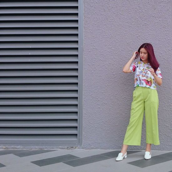 Twenty20 That's Me Outfit #OOTD Forever Young Hanging Out Green Fashion Street Fashion Taking Photos