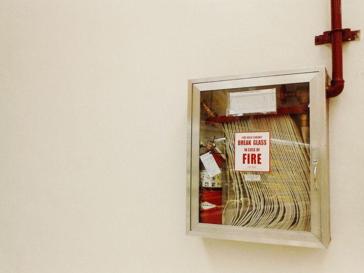 Break glass in case of fire. Fire Hose Streamzoo Family EyeEm Best Shots