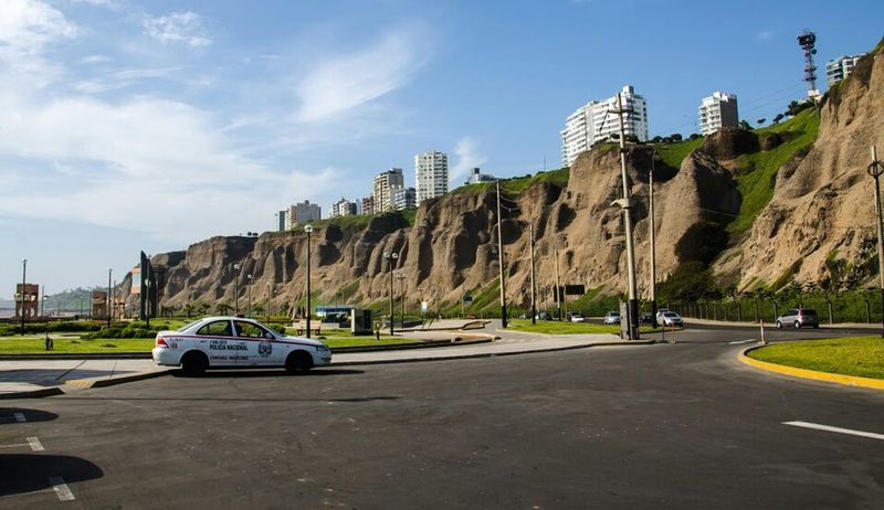 Los acantilados - The cliffs Lima Cityscapes Urban Nature Landscape