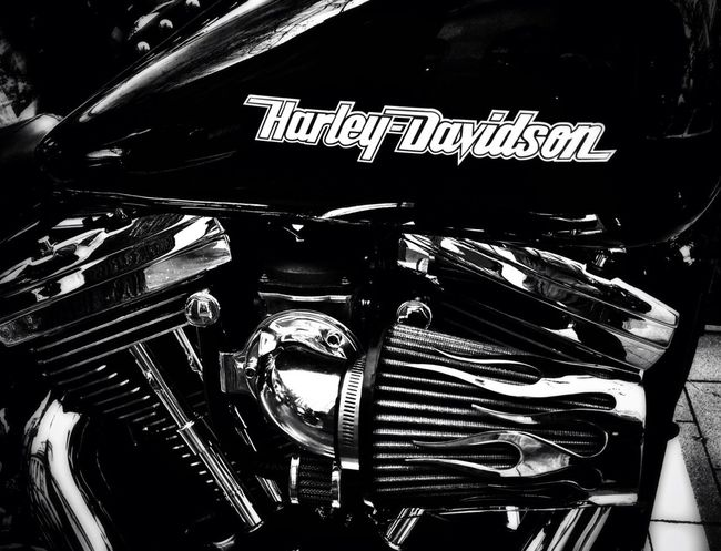 Token Harley Davidson shot Black And White Out Of Boredom What's A Gallery Without A Harley?