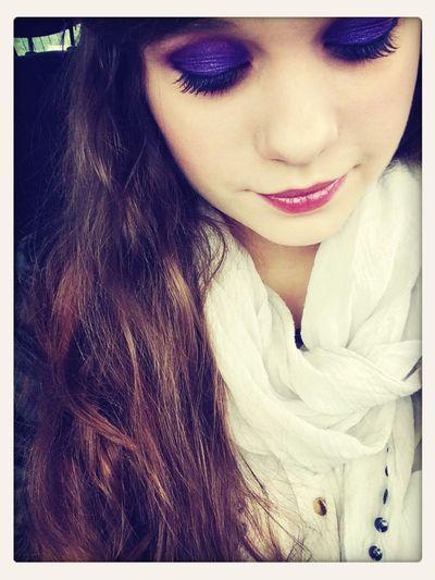 Makeup ♥ Purple Artist Sexygirl